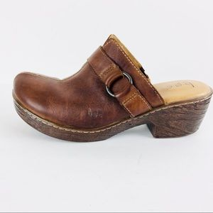 BOC Born Concept Brown mule clog 9M
